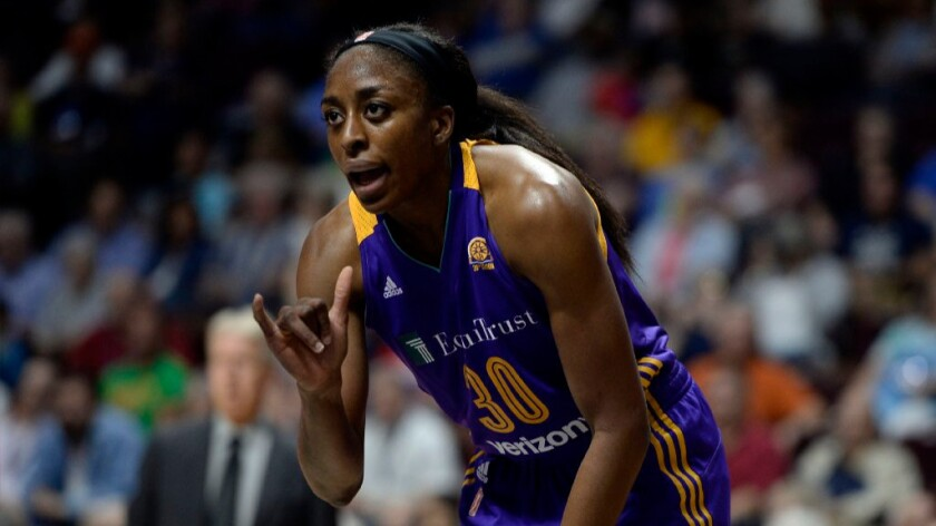 Nneka Ogwumike led the Sparks to the playoffs and was named Tuesday as the WNBA's most valuable player. Yet, she did not make the U.S. Olympic team, which won the gold medal in Rio.