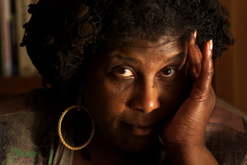 Wanda Coleman, who died last year at the age of 67, photographed in 1999.