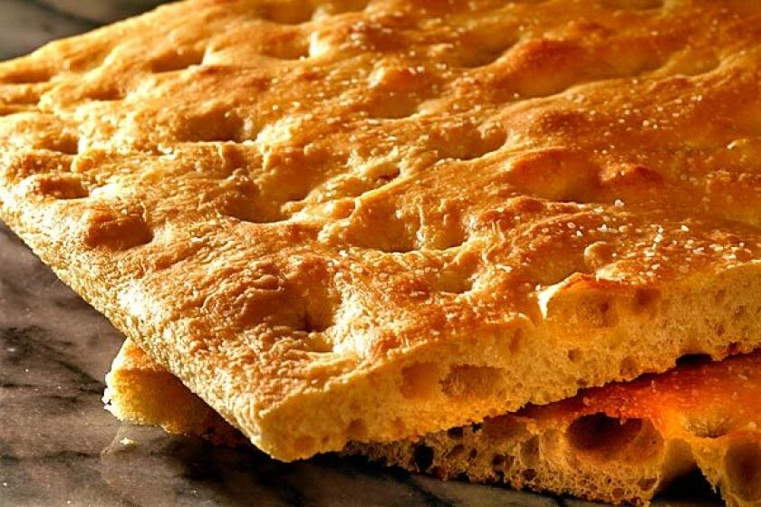 Making your own focaccia