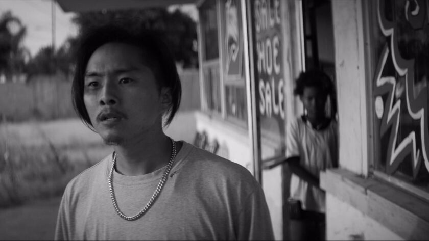 "Justin Chon appears in ""Gook"""