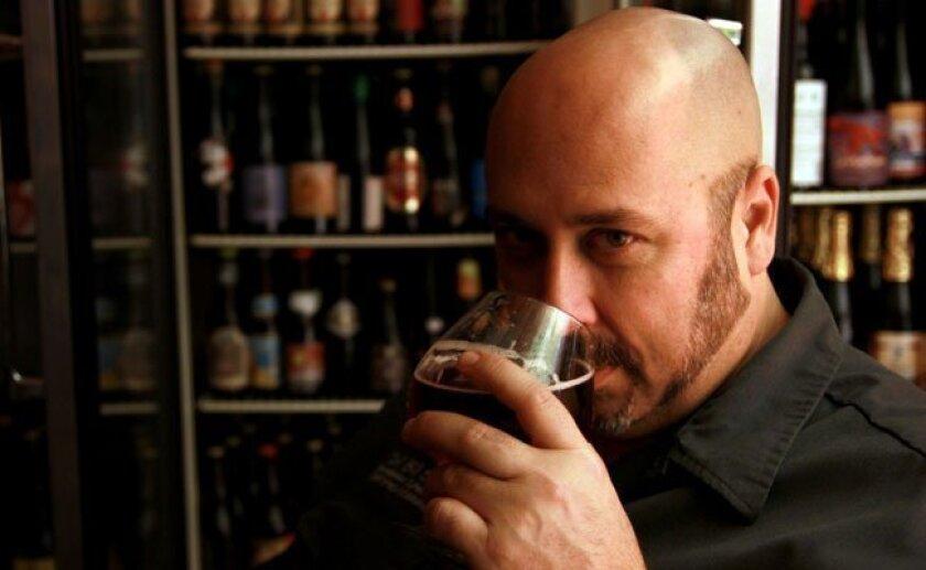 Bill Sysak, beverage supervisor at Stone Brewing World Bistro & Gardens and U-T Superdiner.