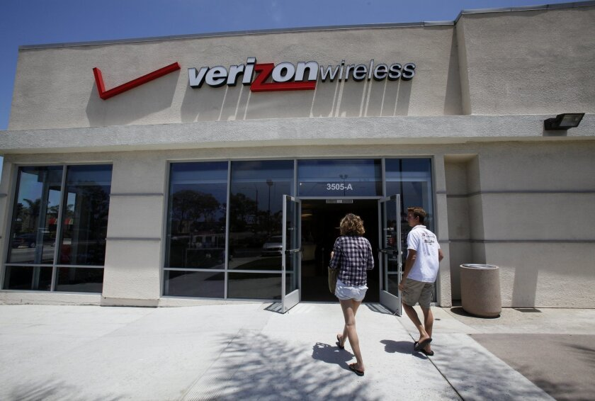 Verizon said Wednesday that it will launch 5G service in parts of San Diego on May 28.