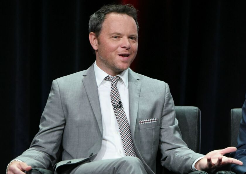 """Noah Hawley, creator of FX's anthology series """"Fargo,"""" appears Friday at the Television Critics Assn. press tour in Beverly Hills."""
