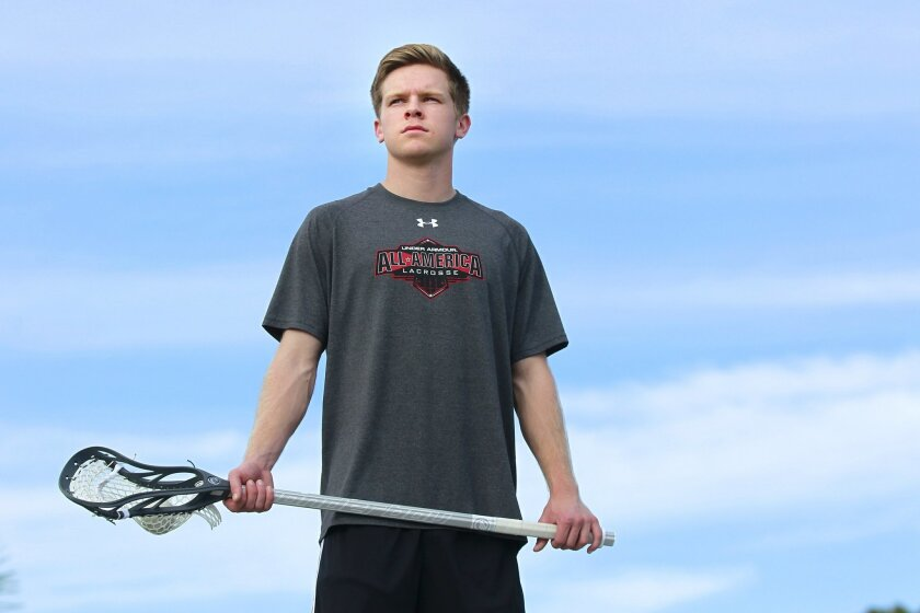 Connor McCroskey was co-Player of the Year in the Coastal League as well as being named first-team All-San Diego Section last season.