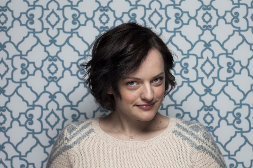 "Elisabeth Moss, photographed at the 2014 Sundance Film Festival, will star in Hulu's adaptation of ""The Handmaid's Tale"" in 2017."