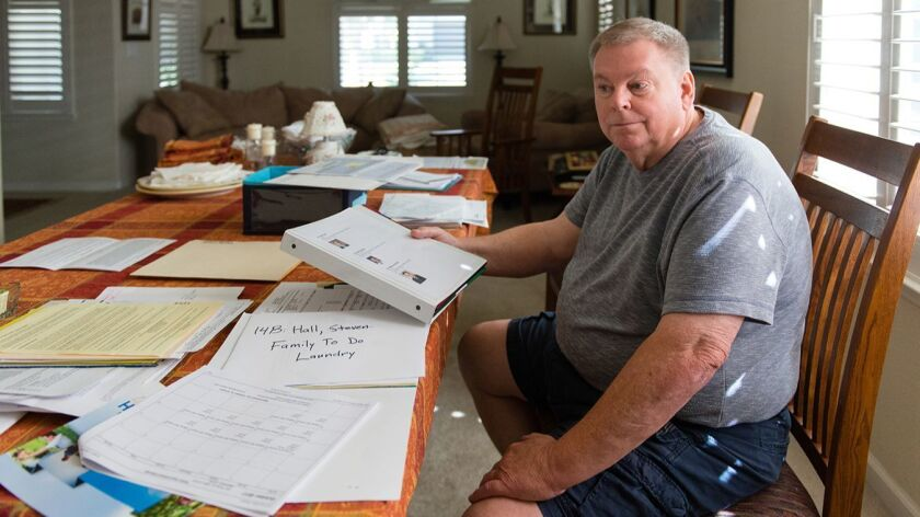 Devin Hall of Brentwood received a $7,109.70 bill from American Medical Response for an out-of-network ambulance ride. He has spent months calling the hospital, his insurer and the ambulance provider trying to resolve the matter.