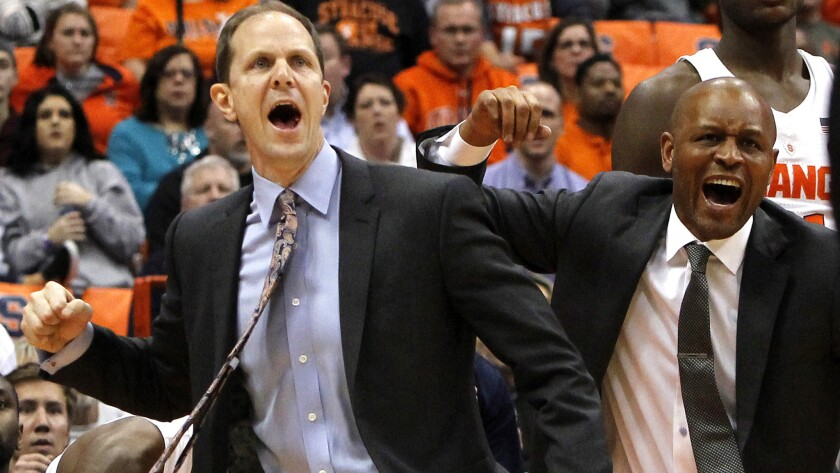 College Basketball Washington Hires Syracuse Assistant Mike