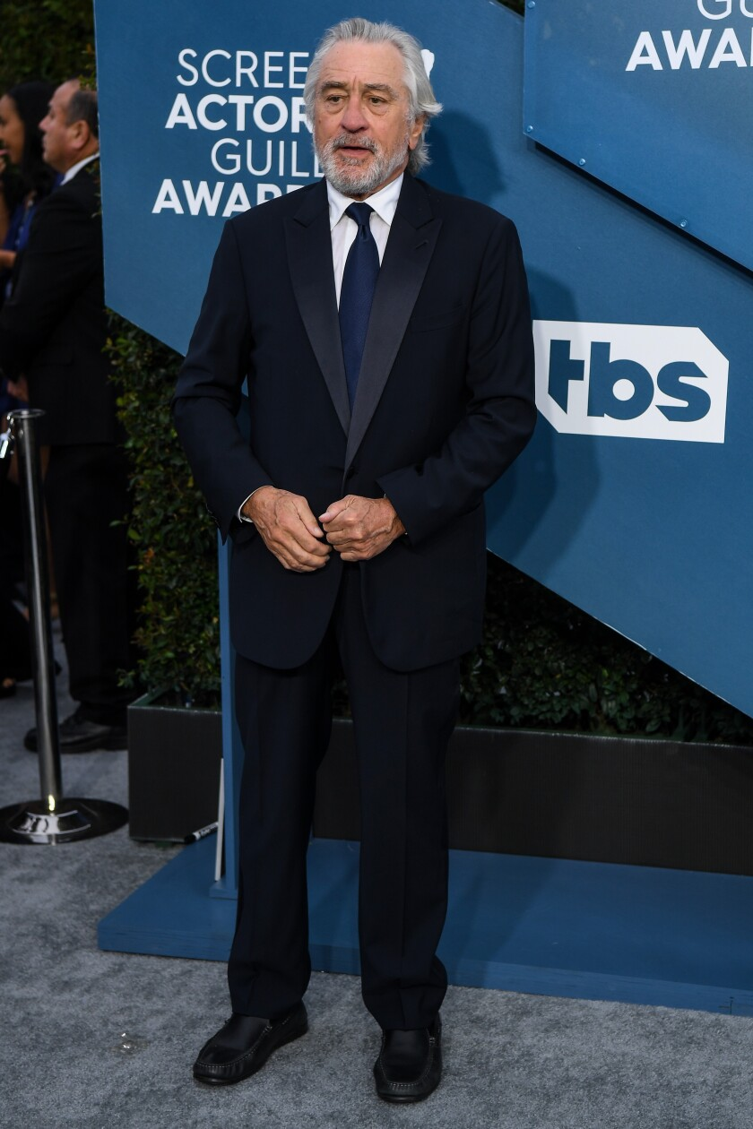 SAG Awards 2020 lifetime achievement honoree Robert De Niro stays proudly political