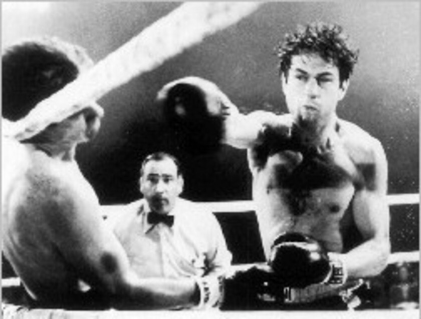 """Robert De Niro's performance as struggling prizefighter Jake LaMotta in Martin Scorsese's octuple-Oscar nominee could have been in color, but would it have had the same gritty appeal if it was? """"I still remember those cheers; they still ring in my ears..."""""""