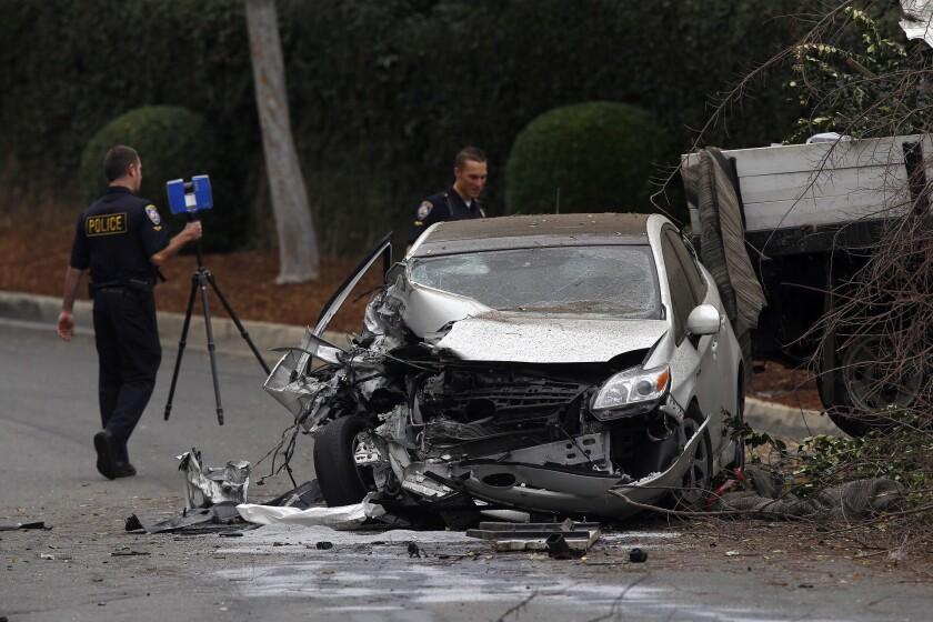 Crash in Beverly Hills