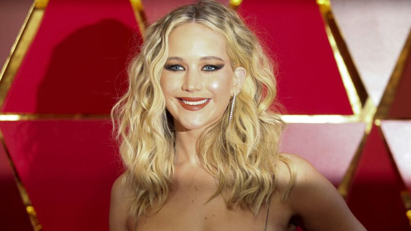 HOLLYWOOD, CA – March 4, 2018 - Jennifer Lawrence during the arrivals at the 90th Academy Awards