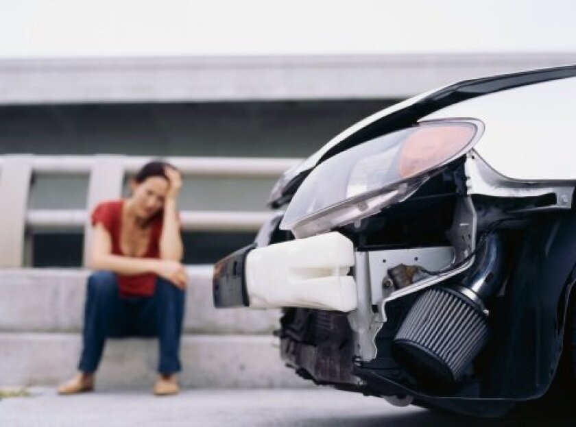 Healing from car accident trauma requires recognition and treatment of emotional and psychological symptoms as well as physical injuries. Photo Credit: George Doyle, Photos.com