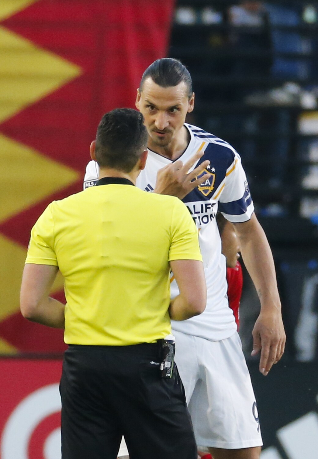 Zlatan Ibrahimovic's yellow card tally will keep him out for Galaxy versus Atlanta