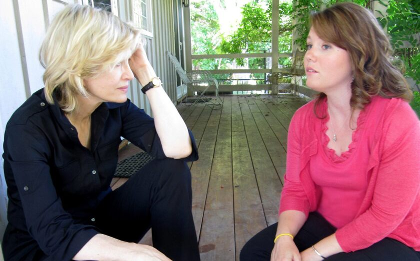 Jaycee Dugard, right, talks to ABC's Diane Sawyer in her first interview since being discovered and freed on Aug. 26, 2009. She was abducted in South Lake Tahoe, Calif., in 1991