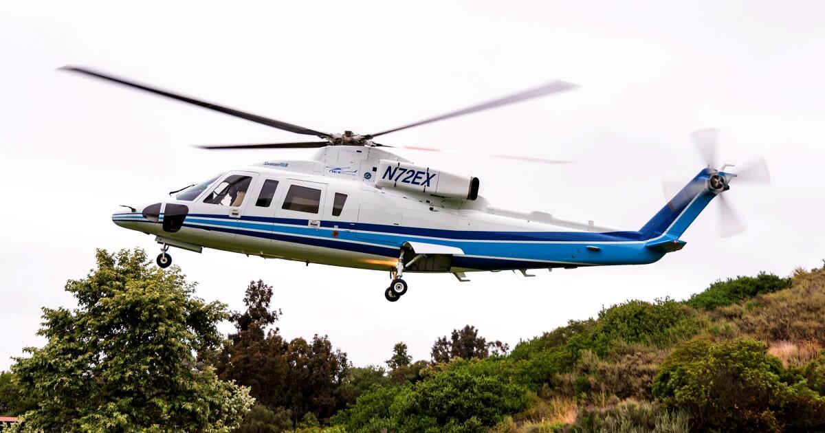 Παρακάμπτοντας το Λ. Α. κίνηση σε ένα ελικόπτερο: