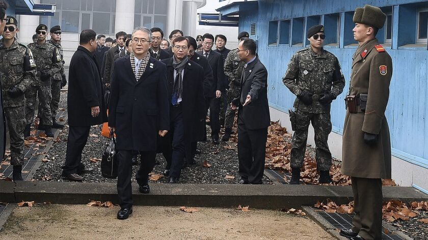 South, North Korea Set to Hold Working-Level Talks