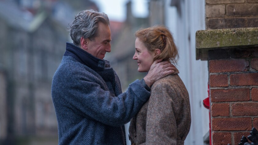 "Daniel Day-Lewis stars as ""Reynolds Woodcock"" and Vicky Krieps stars as ""Alma"" in writer/director P"