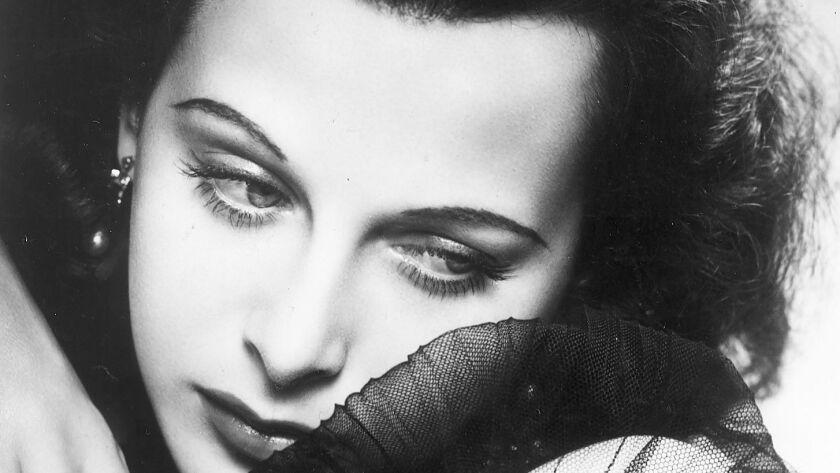 Studio photo of Hedy Lamarr.