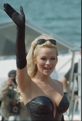 Pamela Anderson, discovered.  Twice!