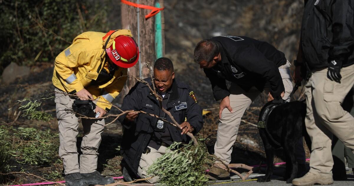 Arson investigation underway in Getty fire