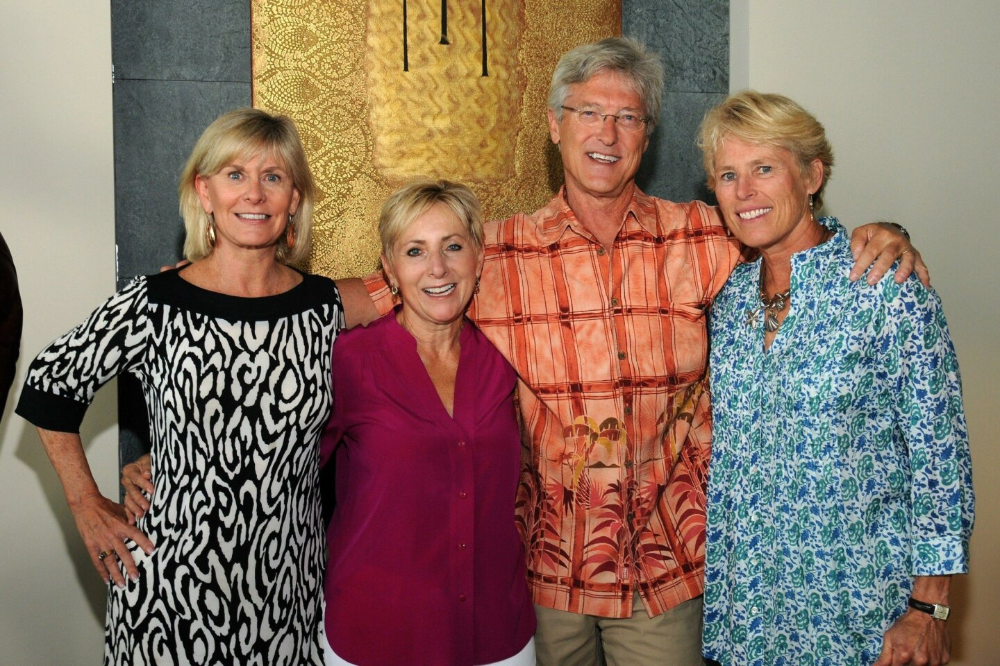 Chris Andrews, Estel and Wally Binder, Jill Walsh