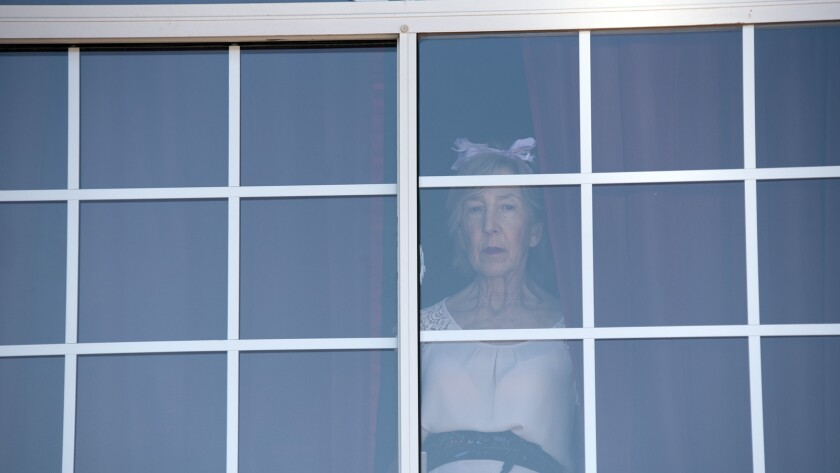 """Lin Shaye in a scene from """"Room for Rent."""" Credit: Uncork?d Entertainment"""