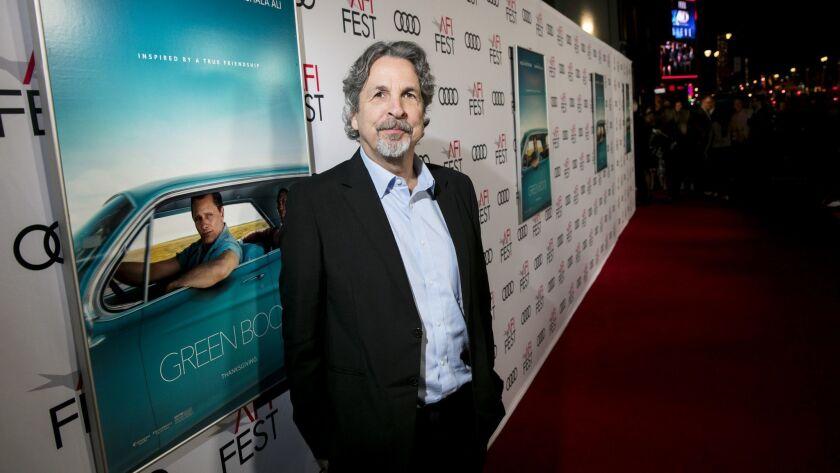 "HOLLYWOOD, CA --NOVEMBER 09, 2018 --Director Peter Farrelly, on the red carpet of ""GreenBook"" at AF"