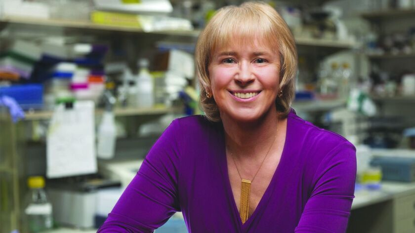 Beverly Emerson is suing the Salk institute for alleged gender discrimination.
