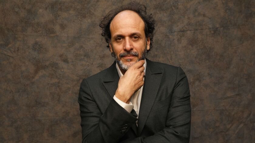 LOS ANGELES, CA - OCTOBER 24, 2018 - Director Luca Guadagnino worked on the stylish horror remake of