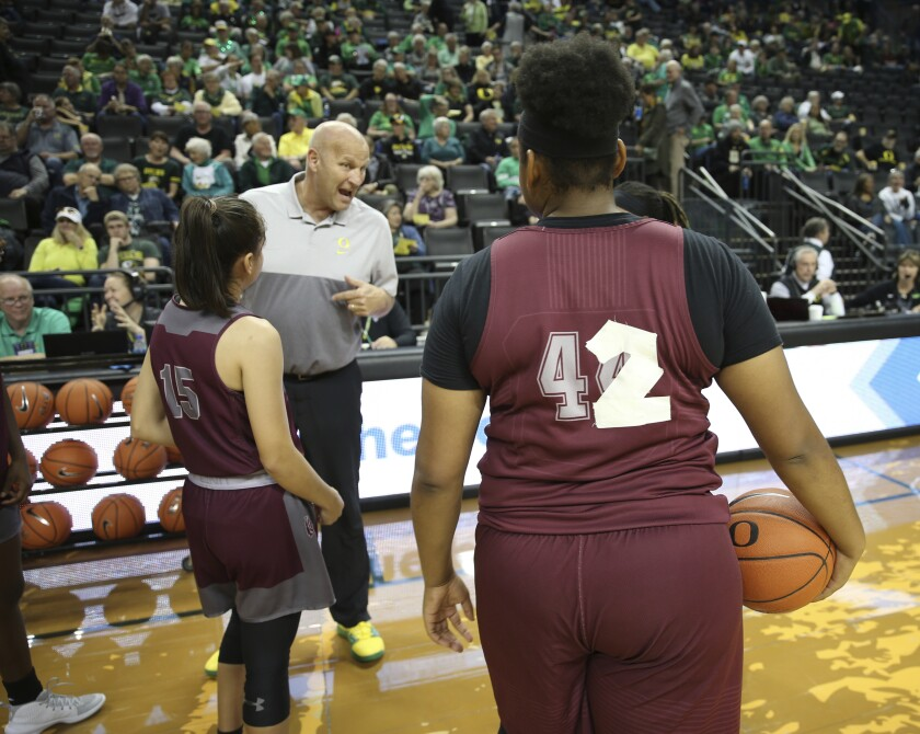 Texas Southern Oregon Basketball
