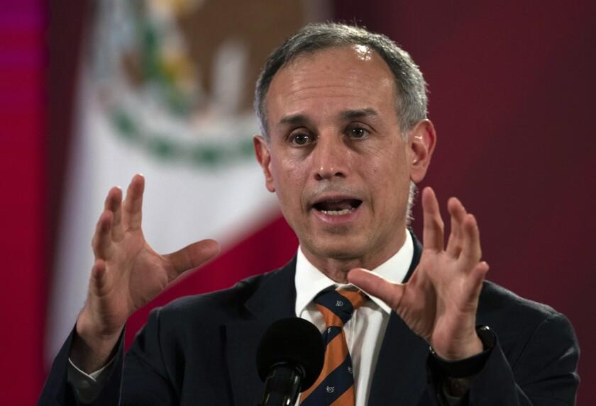 Hugo López-Gatell, Mexico's undersecretary of health.
