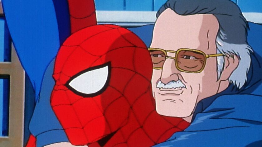 In a rare animated camero, Stan Lee bids farewell to one of his most memorable creations in the fina