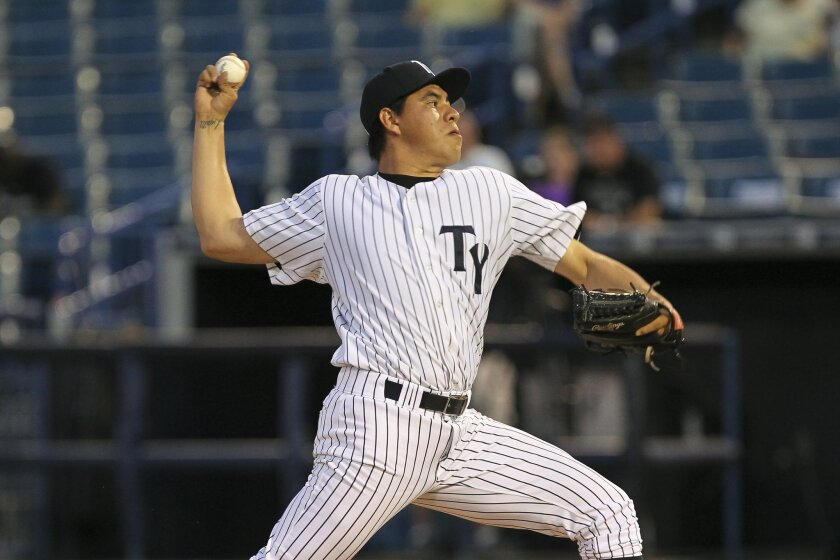 The Padres signed right-hander Cesar Vargas to a major league deal in November 2015.