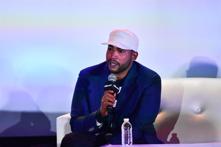 Don Omar durante una conferencia de prensa. EFE/Archivo