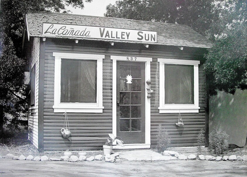 From modest beginnings, the La Cañada Valley Sun has covered news, sports and the community for 74 years.