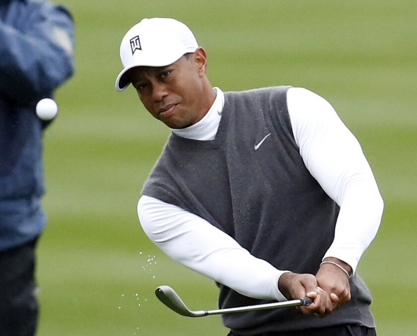 Tiger Woods will fall out of the top 50 for the first time since 2011.