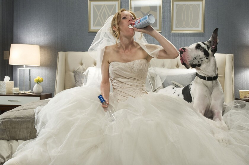 """Leslie Mann stars in """"The Other Woman,"""" which is expected to be No. 1 at the box office this weekend."""