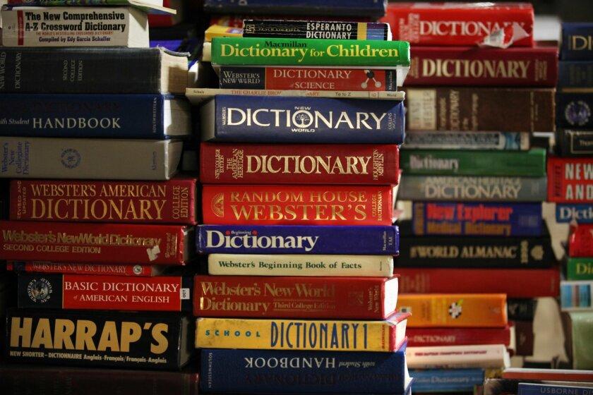 Dictionaries and coronavirus