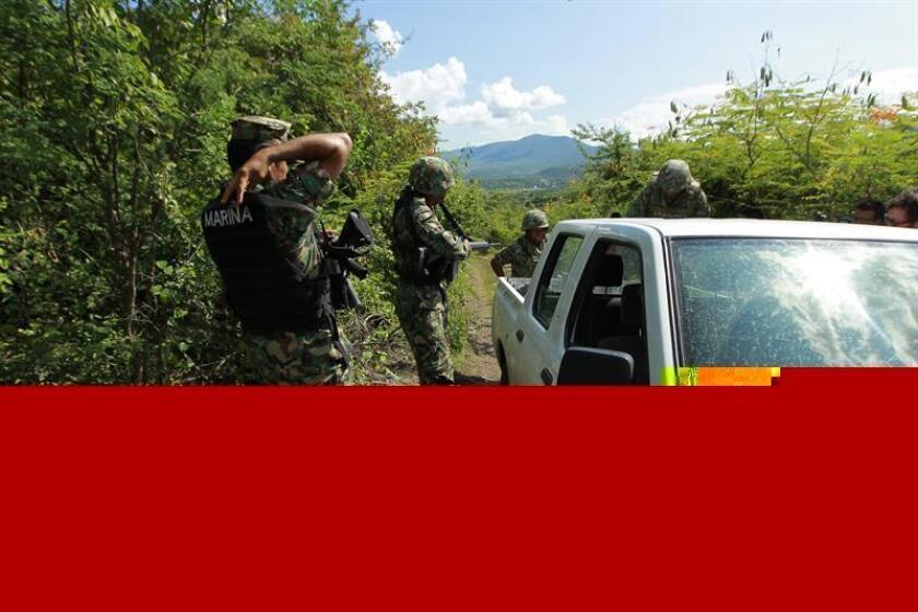 Cinco campesinos mexicanos que habían sido secuestrados el 18 de noviembre pasado por el grupo conocido como Los Tequileros fueron liberados en el sureño estado de Guerrero, informaron hoy fuentes oficiales. EFE/ARCHIVO