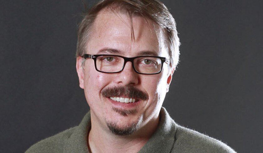 "Vince Gilligan, the creator of ""Breaking Bad,"" appeared on Monday's installment of ""The Colbert Report."""
