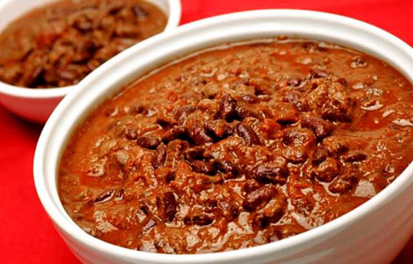 EXPERTISE: Republicans make a mean chili.