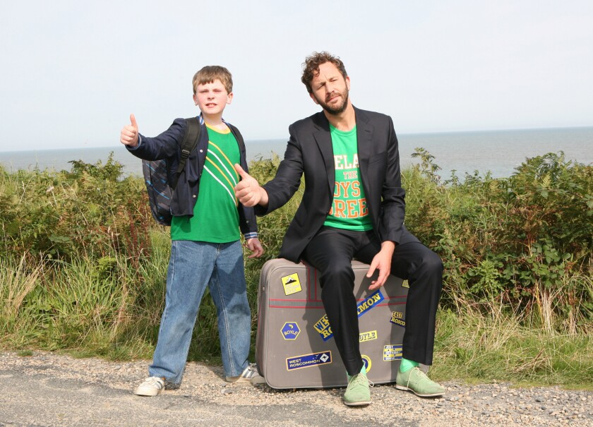 """Moone Boy"" with David Rawle and Chris O'Dowd"