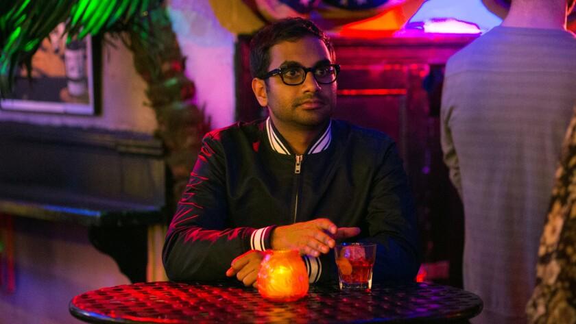 "Aziz Ansari in a scene from the Netflix original series ""Master of None."""