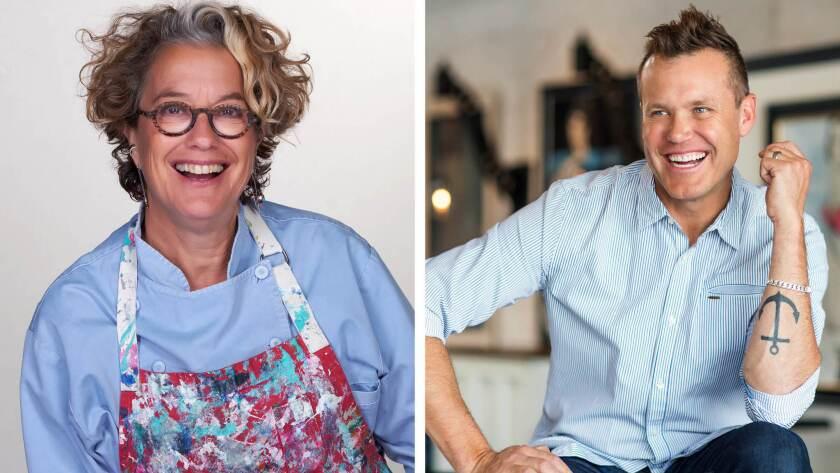 chefs Susan Feniger and Brian Malarkey