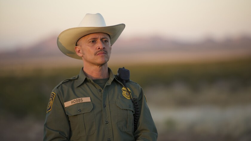 """Clifton Collins Jr. in """"Transpecos."""""""