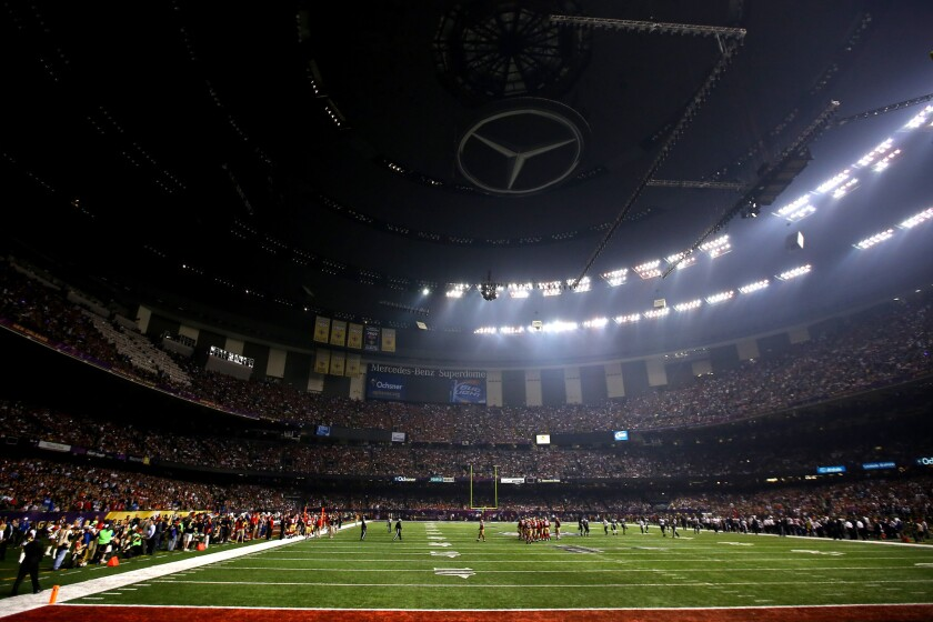 Power outage during Super Bowl XLVII in 2013