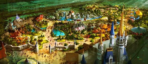 Overview of Fantasyland makeover planned for the Magic Kingdom in 2012.