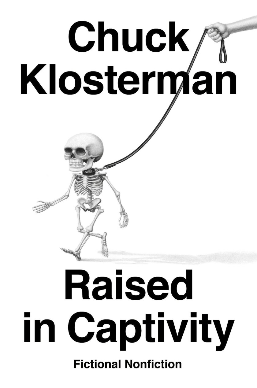 Book jacket for ÒRaised in Captivity,Ó by Chuck Klosterman