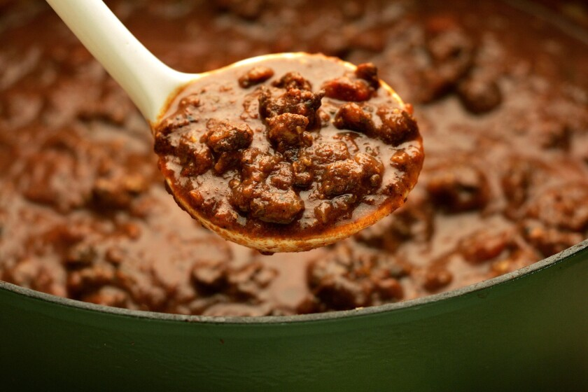 7 great chili recipes to warm you up