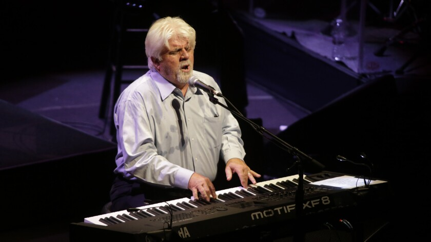Michael McDonald performs Tuesday at California Center for the Arts, Escondido.
